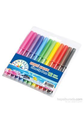 Temat Fantasia 172910 Keçeli Kalem 12 Renk