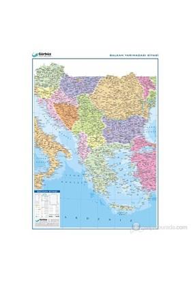 Balkan Yarımadası Siyasi Haritası