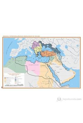 Osmanlı İmparatorluğu'Nun Gerileme Ve Yıkılışı Haritası