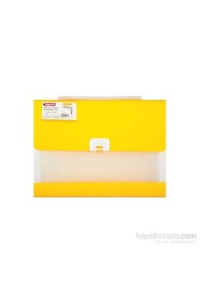 Bigpoint Sarı Körüklü Dosya 13 Cepli Lolly