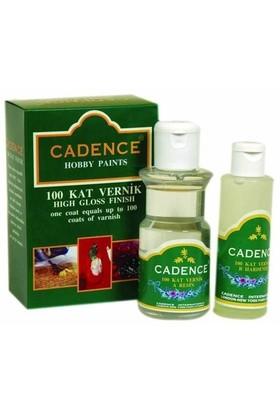 Cadence 100 Kat Vernik 120 Ml+70 Ml Takım