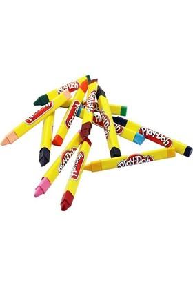 Play-Doh Cr008 12 Renk Üçgen 11 Mm Crayon