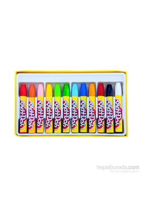 Play-Doh Pa009 12 Renk Pastel Boya Plastik Çantalı