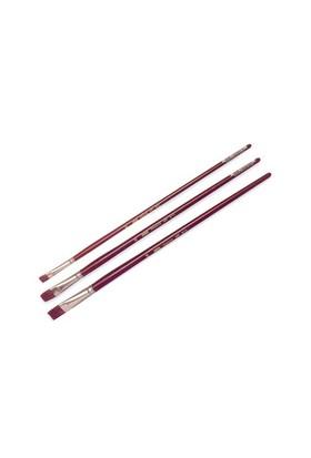 Pebeo 210 Seri Yağlı Boya Fırçası - Yassı Samur Kıl No: 0