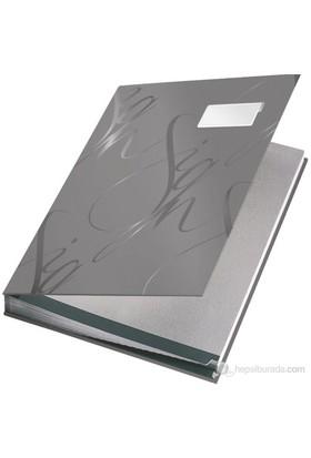 Leitz Leitz Design İmza Dosyası-18 Bölmeli Gri 57450085