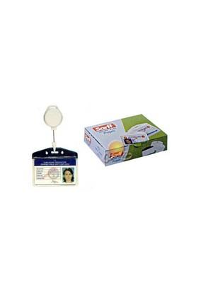 Sarff Pvc Kart Poşetleri Beyaz 100 Ad/Pk. (7.5cmx9.5cm) - 15207002