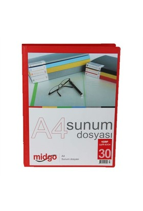 Midgo A4 30'Lu Sunum Dosyası Ng - 30A - 50300