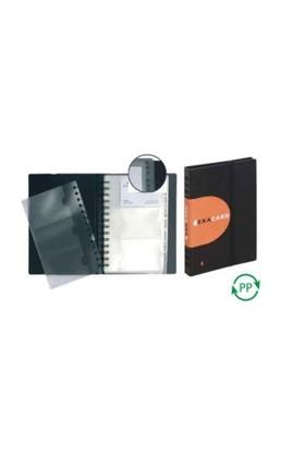 Exacompta Exactive Kartvizit Dosyası PP - 20 Yaprak - 120 Kart