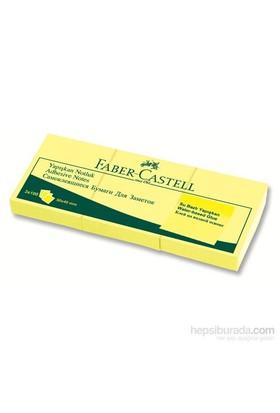 Faber-Castell Yapışkan Notluk 50x40 3'lü Sarı