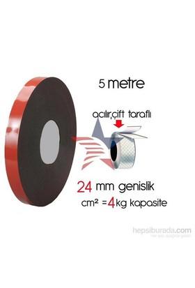 HomeCare Akrilik Çift Taraflı Bant 2,5 cm x 5 Mt cm2=4 kg