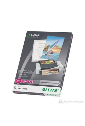 Leitz Udt Laminasyon Poşeti A4 125 Mikron 100 Adet Şeffaf 74810000