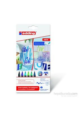 Edding Porselen Kalemi E-4200 6Lı Set Cool