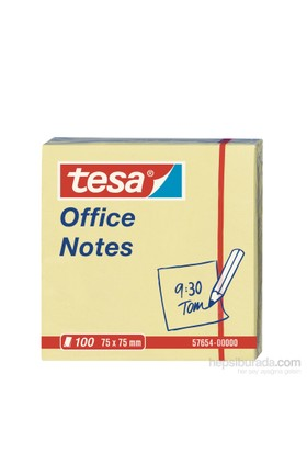 Tesa Yapışkanlı Not Kağıdı 100 yaprak 75mm 75mm