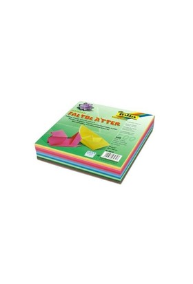 Folia Origami Kağıdı 20X20 Cm. 10 Renk 500 Adet