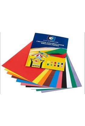 Alex Schoeller Fon Kartonu 25 X 35 Dosyalı 160 Gr-10 Renk