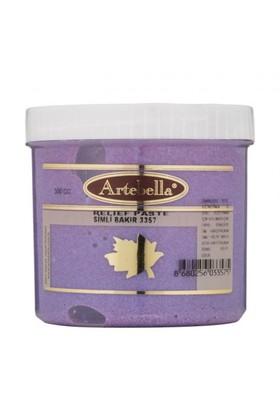 Artebella 300 Gr Simli Bakır Rölyef Pasta - 3357