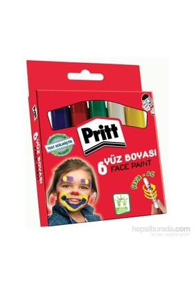 Pritt Yüz Boyası - 6 Renk - 8 gr
