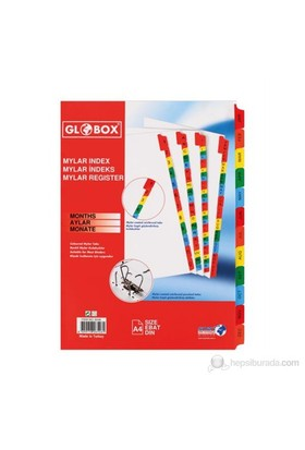 Globox Mylar Separatör 1-12 Rakam