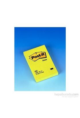 Post-it® Not, Sari, 100 yaprak, 51x76mm