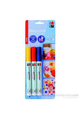 Marabu Cam Marker Kalem Çocuk 3 X - 2Mm 12400080
