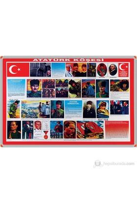 Panda 501 70X100 Atatürk Köşesi (Alüminyum Çerçeve)