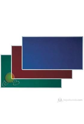 İnter Mantar Pano 90X120 Çuhalı Mavi
