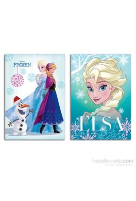 Keskin Color 322501-71 Frozen A4 40 Yaprak Çizgili PP Kapak Dikişli Defter eol
