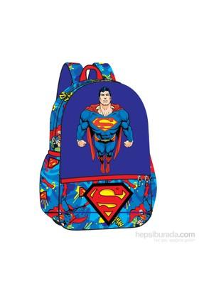 SUPERMAN CHEST ANAOKULU ÇANTA TEK GÖZLÜ