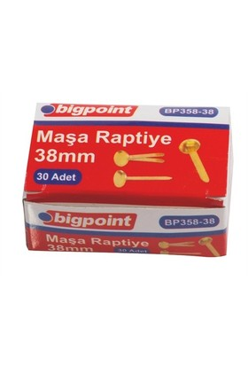 Bigpoint 358 Masa Raptiye 38Mm Bp35838