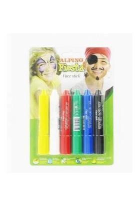 Alpino Yüz Boyası 6 Renk Fıesta Set Dl-014