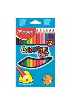 Maped Color Pep's Maxi 12'Li Kuru Boya 834010Zv