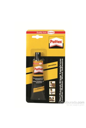 Pattex 1176370 Deri-Kauçuk Ahşap Yapıştırıcı 50 ml Tüp