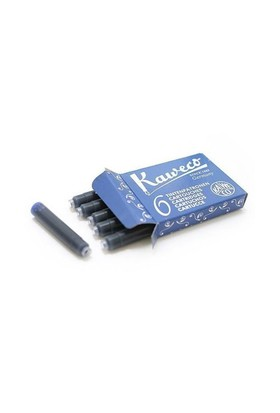 Kaweco Kartuş 6Lı Mavi 10000256