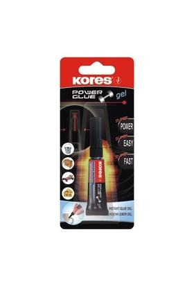 Kores Power Glue Japon Yapıştırıcı 3 gr. 5k26312