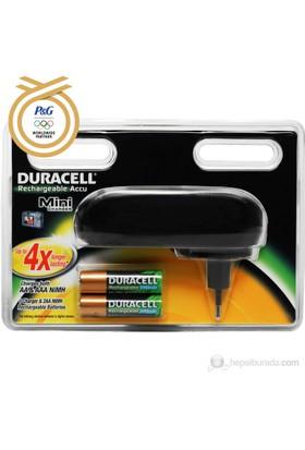 Duracell CEF20 Pil Şarj Aleti+2AA Pil 2450mAh