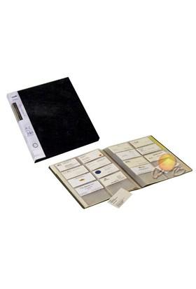 Serve Kartdosya 240 Kartlık,A4,Alfabetik Ayraç Siyah Sv-6240
