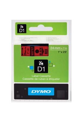 Dymo D1 Yedek Şerit 24mm x 7m. Beyaz\Kırmızı 53715