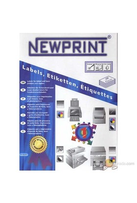 New Print Cd Inkjet/laser Etiketi