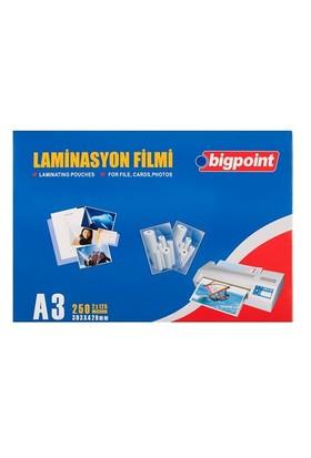 Bigpoint A3 Laminasyon Filmi 125 Micron Bp693