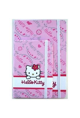 Hello Kitty Lastikli Defter 14 x 21 Çizgili