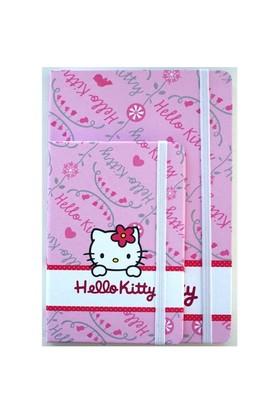 Hello Kitty Lastikli Defter 9,9 X 15 Çizgili