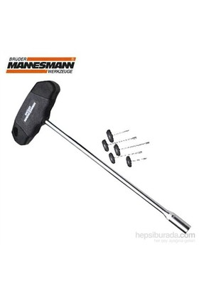 Mannesmann 18091 T-Saplı Lokma Anahtar 13,0X350mm