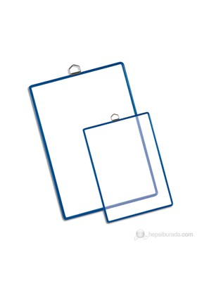 Tarifold Askılı Poşet A3 (5 Adet) Şeffaf/Mavi 15350125
