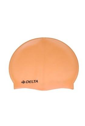 Delta Silikon Deluxe Düz Renk Yüzücü Bonesi - 10 Adet
