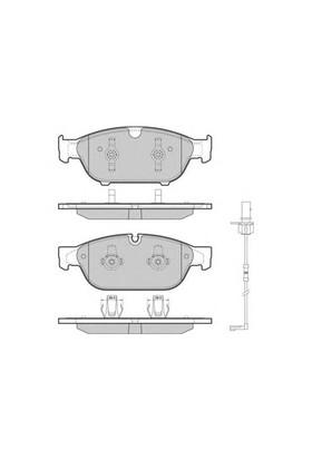 Bosch 0986Tb3178 Fren Balatası On (Audı: A6 4G2-4G5 11-A7 10-)