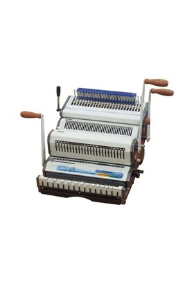 Mapiwire 4024 Combo Plastik & Tel Spiral Ciltleme Makinesi