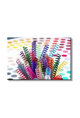 Mapicoil 6mm Plastik Helezon Spiral Şeffaf 100 Lü (235 06 04)