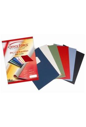 Office Force A3 Cilt Kapakları Şeffaf PVC