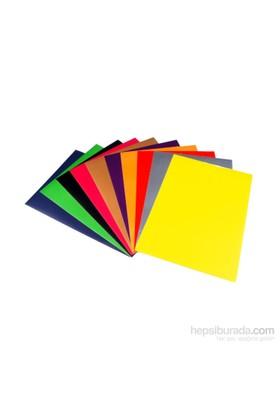 Yener 2343 Fon Kartonu 50 x 70 cm 10 Renk Karışık