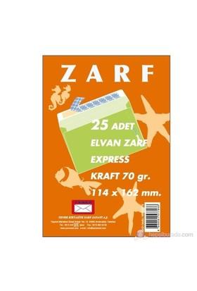 Yener Buklet Zarf 979 114x162 mm 70gr. 25'li